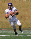 WSU Warrior Football Action Photograph 224 by Andrew Nyhus and Winona State University