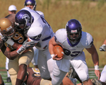 WSU Warrior Football Action Photograph 226 by Andrew Nyhus and Winona State University
