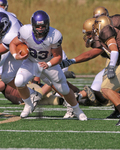 WSU Warrior Football Action Photograph 227 by Andrew Nyhus and Winona State University