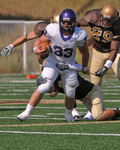WSU Warrior Football Action Photograph 228 by Andrew Nyhus and Winona State University