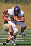 WSU Warrior Football Action Photograph 229 by Andrew Nyhus and Winona State University