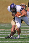 WSU Warrior Football Action Photograph 230 by Andrew Nyhus and Winona State University