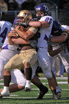 WSU Warrior Football Action Photograph 239 by Andrew Nyhus and Winona State University