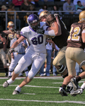 WSU Warrior Football Action Photograph 241 by Andrew Nyhus and Winona State University