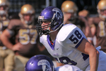 WSU Warrior Football Action Photograph 243 by Andrew Nyhus and Winona State University