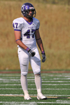 WSU Warrior Football Action Photograph 244 by Andrew Nyhus and Winona State University