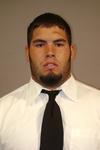 WSU Warrior Football Player - Portrait 2008 by Winona State University