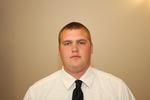 WSU Warrior Football Player - Nick Faber - Portrait 2009 by Winona State University