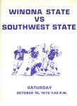 Winona State vs. Southwest State: Football Program by Winona State University