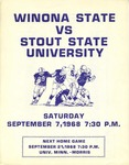 Winona State vs. Stout State University: Football Program by Winona State University