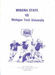 Winona State vs. Michigan Tech University: Football Program by Winona State University