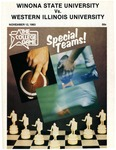 Winona State University vs. Western Illinois University: Football Program by Winona State University