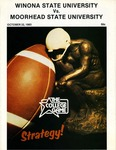 Winona State University vs. Moorhead State University: Football Program by Winona State University