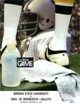 Winona State University vs. Univ. of Minnesota-Duluth: Football Program