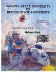 Winona State University vs. Bemidji State University - Homecoming: Football Program by Winona State University