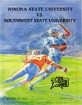 Winona State University vs. Southwest State University: Football Program by Winona State University