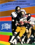 Winona State University vs. University of Wisconsin-La Crosse: Football Program by Winona State University