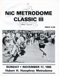 NIC Metrodome Classic III: Football Program by Winona State University