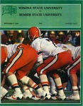Winona State University vs. Bemidji State University: Football Program by Winona State University