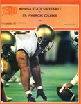 Winona State University vs. St. Ambrose College: Football Program by Winona State University