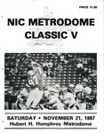 NIC Metrodome Classic V: Football Program by Winona State University