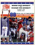 Winona State University vs. Michigan Tech University: Football Program by Winona State University