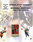 Winona State University vs. Moorhead State Univ.: Football Program by Winona State University