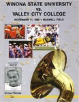 Winona State University vs. Valley City College: Football Program