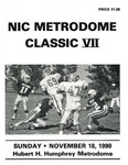 NIC Metrodome Classic VII: Football Program by Winona State University