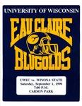 UWEC vs. Winona State: Football Program by Winona State University