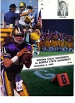 Winona State University vs. Bemidji State University: Football Program by Winona State University