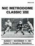 NIC Metrodome Classic VIII: Football Program by Winona State University