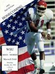 1992 Hall of Fame - Homecoming - WSU vs. Minn - Morris: Football Program by Winona State University