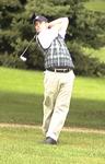 WSU Warrior Men's Golf Action Photograph 1999 by Winona State University