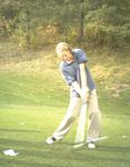 WSU Warrior Women's Golf Action Photograph 1999 by Winona State University