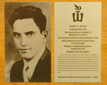 Ernest W. Winter: Hall of Fame Inductee by Winona State University
