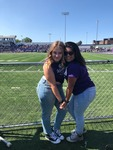 Homecoming 2018 Maxwell Football Field 0- Two Students by Megan Peine