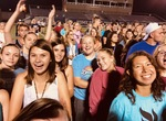 Students on Maxwell Field Homecoming 2018 by Tori Senica