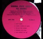 Winona State College Jazz Ensemble 1968