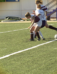 WSU Warrior Soccer Action Photograph 1999 by Winona State University