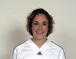 WSU Warrior Soccer Player - Kerr - Portrait 2003 by Winona State University