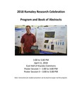 Program and Book of Abstracts: 2018 Undergraduate Research Celebration