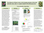 The Influence of Flower Color on the Foraging Selection of the Julia Butterfly, Dyras Uilia, in a Captive Habitat at the Minnesota Zoo