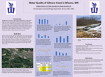Water Quality of Gilmore Creek in Winona, Minnesota by Megan Diesslin