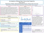 An Analysis of Rising Hate Crimes in The Trump Era by Jorge L. Almaraz Alvillar