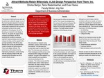 Attract-Motivate-Retain Millennials: A Job Design Perspective from Thern, Inc. by Emma J. Berlyn, Terra Radermacher, and Evan Veres