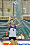 WSU Warrior Volleyball Action Photograph by Winona State University