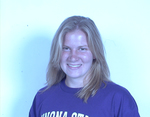 WSU Warrior Women's Volleyball Player Portrait 2001 by Winona State University