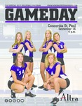 Winona State University 2017: Volleyball Program Covers and Inserts