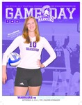 Winona State University 2014 Volleyball Program Covers and Inserts